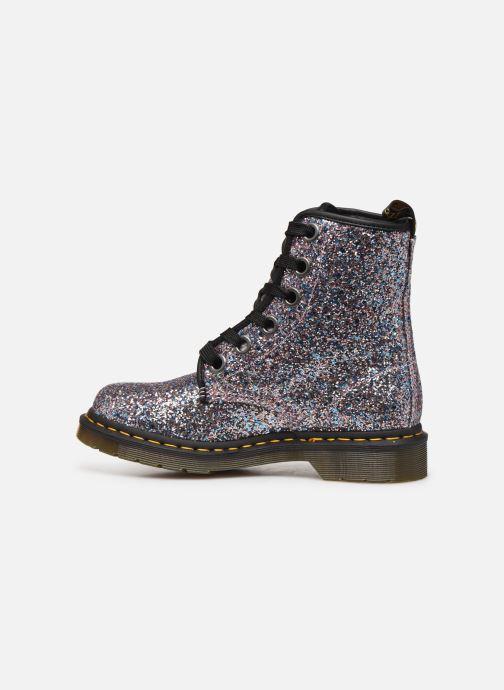 Bottines et boots Dr. Martens 1460 Farrah Glitter Multicolore vue face