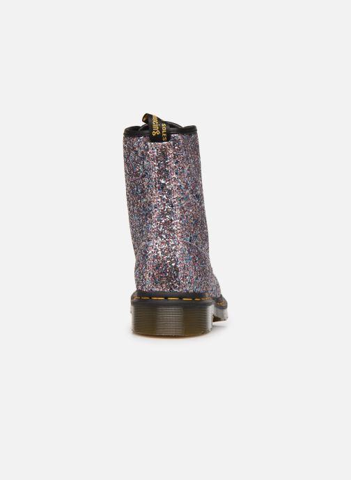 Bottines et boots Dr. Martens 1460 Farrah Glitter Multicolore vue droite