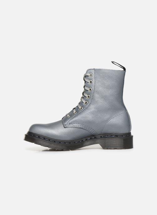 Bottines et boots Dr. Martens 1460 Pascal Metallic Argent vue face