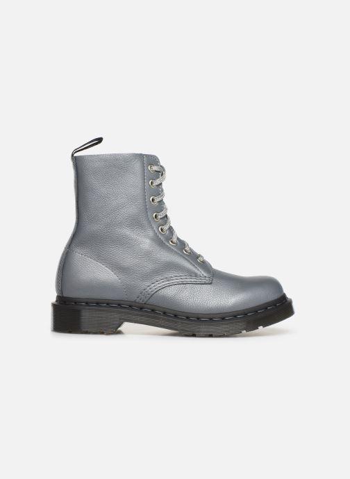 Bottines et boots Dr. Martens 1460 Pascal Metallic Argent vue derrière
