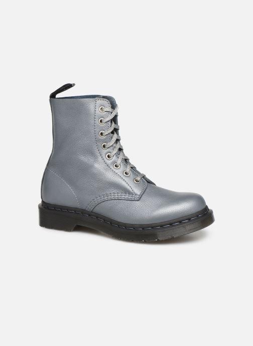 Bottines et boots Dr. Martens 1460 Pascal Metallic Argent vue détail/paire