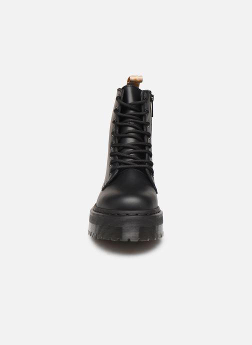 Bottines et boots Dr. Martens Vegan Jadon II Mono Noir vue portées chaussures