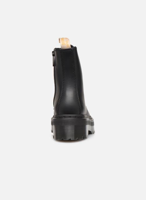 Bottines et boots Dr. Martens Vegan Jadon II Mono Noir vue droite