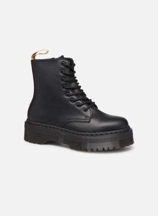 Bottines et boots Dr. Martens Vegan Jadon II Mono Noir vue détail/paire