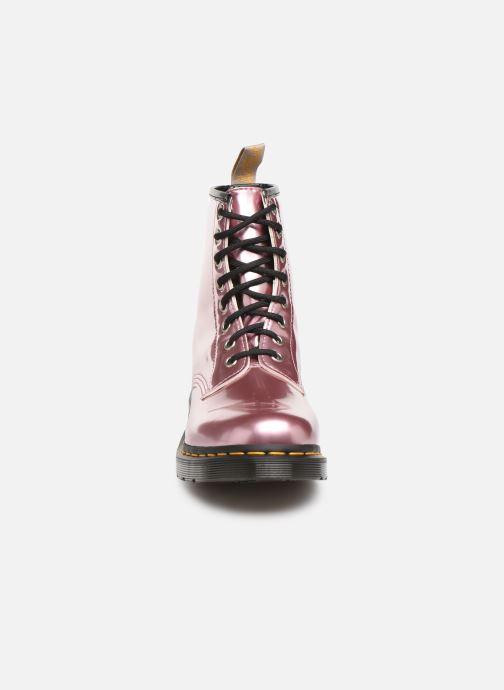 Bottines et boots Dr. Martens 1460 Vegan Rose vue portées chaussures