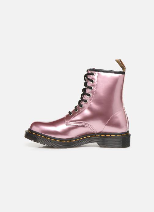 Stiefeletten & Boots Dr. Martens 1460 Vegan rosa ansicht von vorne