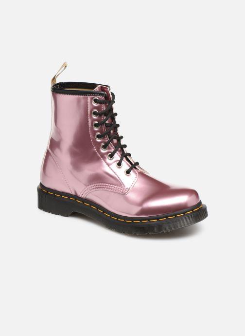 Stiefeletten & Boots Dr. Martens 1460 Vegan rosa detaillierte ansicht/modell