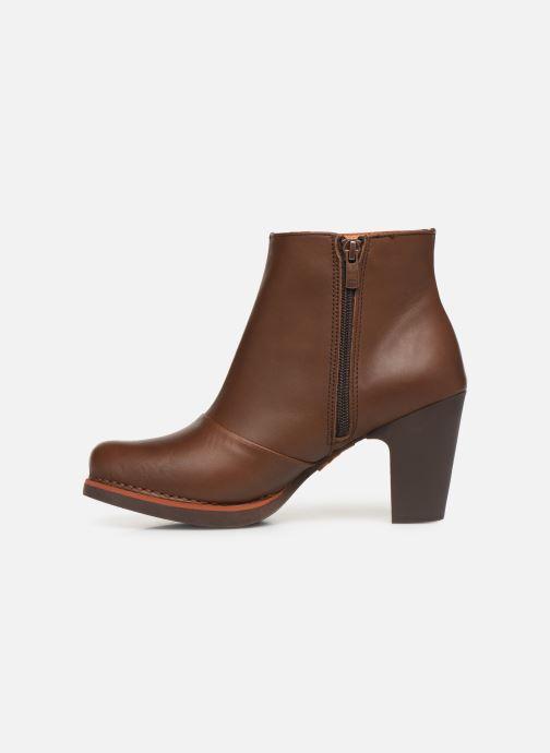 Boots en enkellaarsjes Art GRAN VIA 1142 Bruin voorkant
