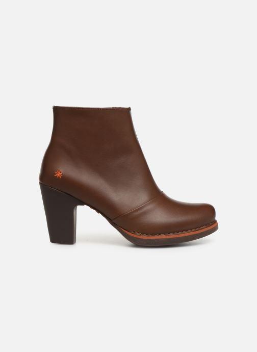 Boots en enkellaarsjes Art GRAN VIA 1142 Bruin achterkant