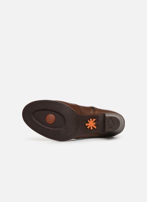Boots en enkellaarsjes Art GRAN VIA 1142 Bruin boven