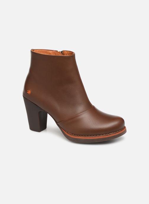 Boots en enkellaarsjes Art GRAN VIA 1142 Bruin detail