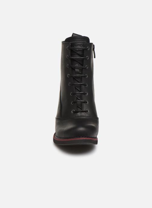 Boots en enkellaarsjes Art GRAN VIA 1146 Zwart model