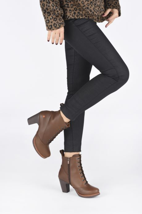 Boots en enkellaarsjes Art GRAN VIA 1146 Bruin onder
