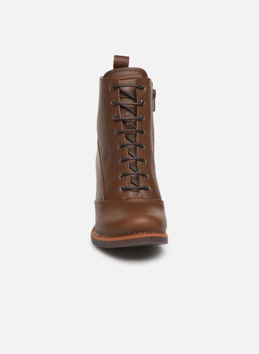 Boots en enkellaarsjes Art GRAN VIA 1146 Bruin model