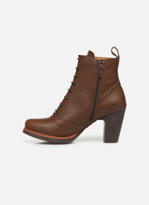 Boots en enkellaarsjes Art GRAN VIA 1146 Bruin voorkant