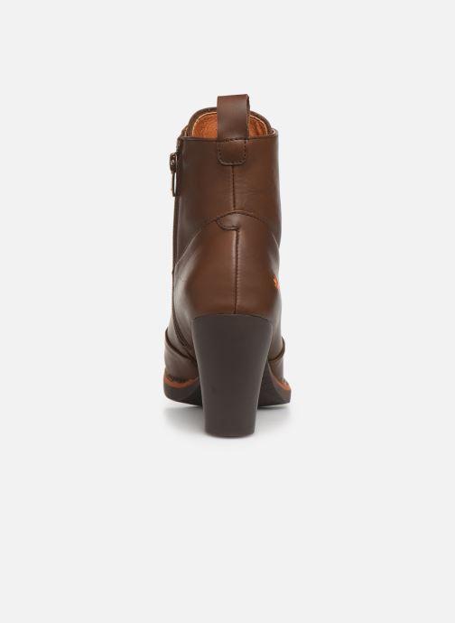 Boots en enkellaarsjes Art GRAN VIA 1146 Bruin rechts