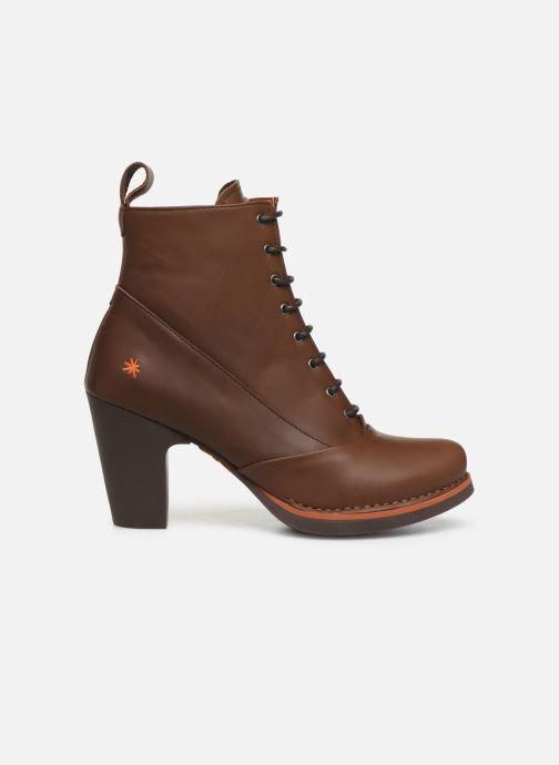 Boots en enkellaarsjes Art GRAN VIA 1146 Bruin achterkant