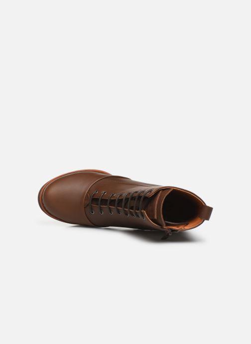 Boots en enkellaarsjes Art GRAN VIA 1146 Bruin links