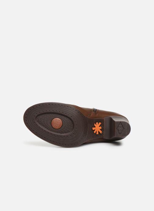 Boots en enkellaarsjes Art GRAN VIA 1146 Bruin boven