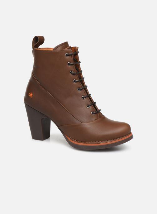 Boots en enkellaarsjes Art GRAN VIA 1146 Bruin detail