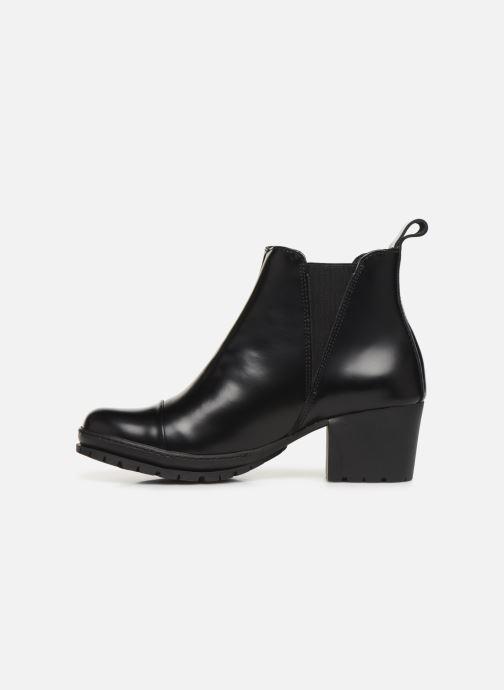 Bottines et boots Art CAMPDEN 1233 Noir vue face