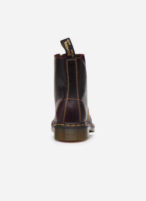 Ankelstøvler Dr. Martens 1460 Pascal Bordeaux Se fra højre