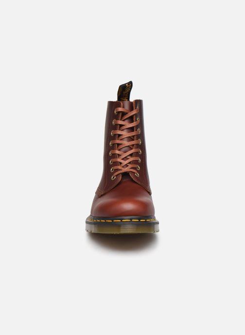 Stiefeletten & Boots Dr. Martens 1460 Pascal braun schuhe getragen