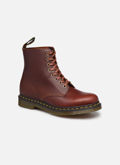 Ankelstøvler Dr. Martens 1460 Pascal Brun detaljeret billede af skoene