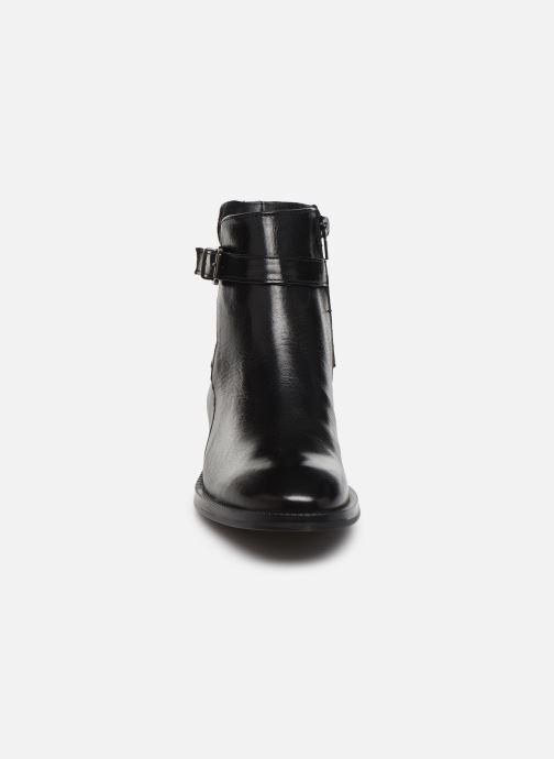Bottines et boots Georgia Rose Restrip Soft Noir vue portées chaussures