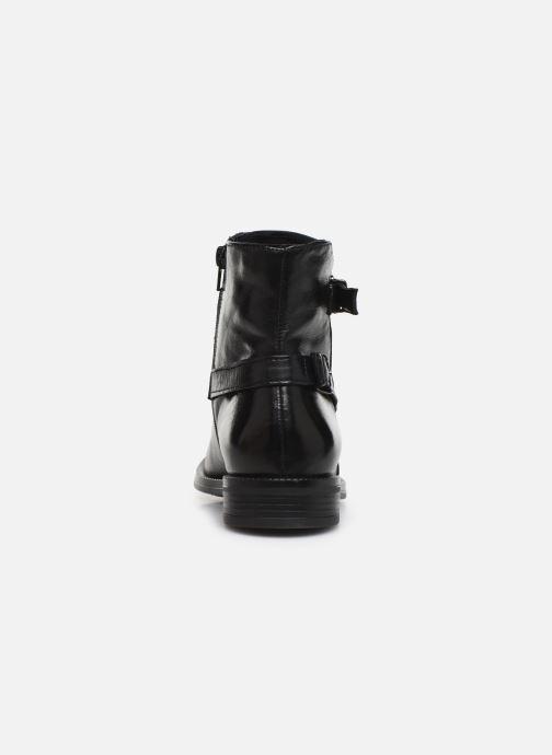 Bottines et boots Georgia Rose Restrip Soft Noir vue droite
