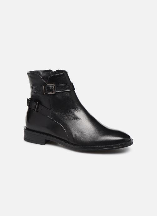 Bottines et boots Georgia Rose Restrip Soft Noir vue détail/paire