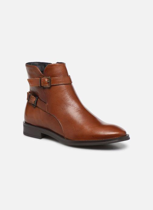 Bottines et boots Georgia Rose Restrip Soft Marron vue détail/paire