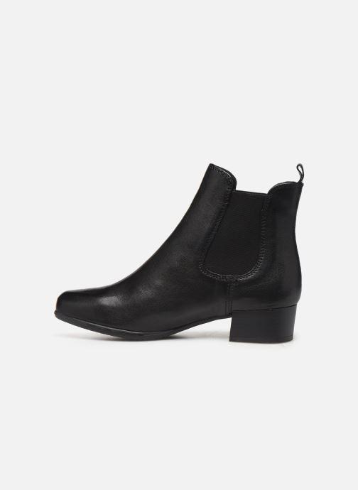 Bottines et boots Georgia Rose Rififa Soft Noir vue face