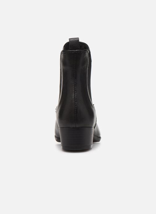 Bottines et boots Georgia Rose Rififa Soft Noir vue droite