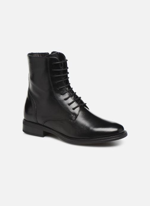 Bottines et boots Georgia Rose Risouria soft Noir vue détail/paire