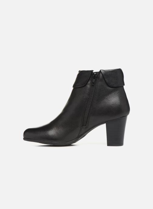 Bottines et boots Georgia Rose Rivers soft Noir vue face