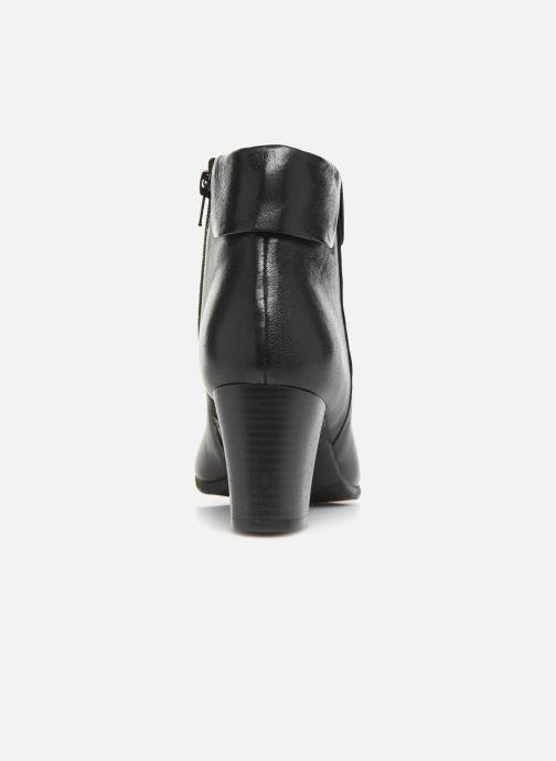 Bottines et boots Georgia Rose Rivers soft Noir vue droite