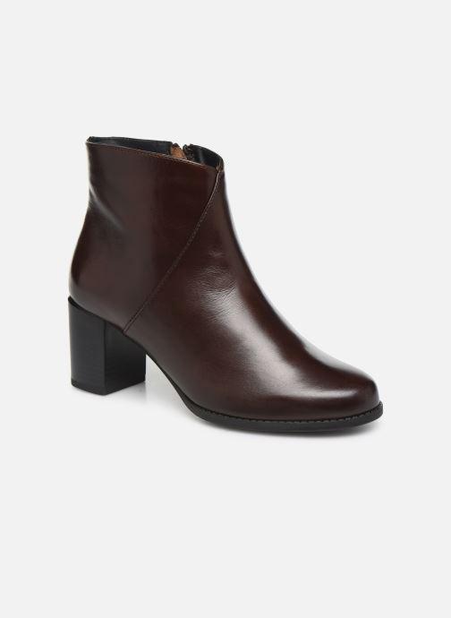 Bottines et boots Georgia Rose Riglos Soft Marron vue détail/paire