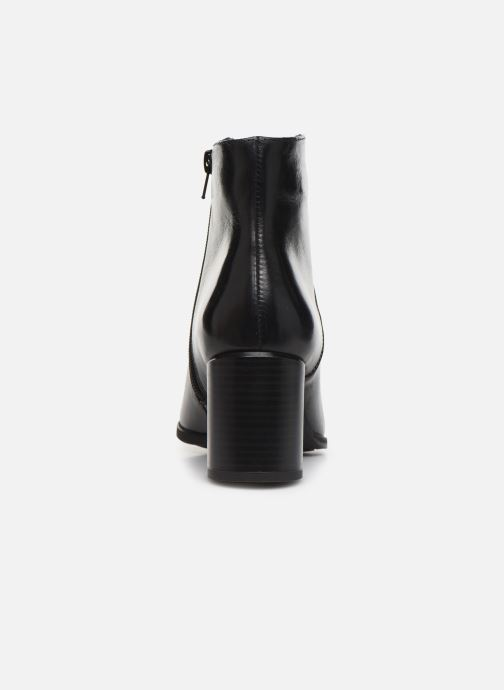 Ankle boots Georgia Rose Riglos Soft Black view from the right
