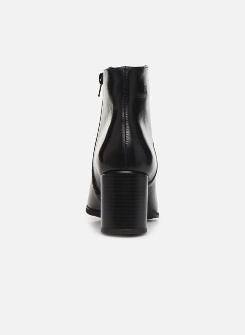 Bottines et boots Georgia Rose Riglos Soft Noir vue droite