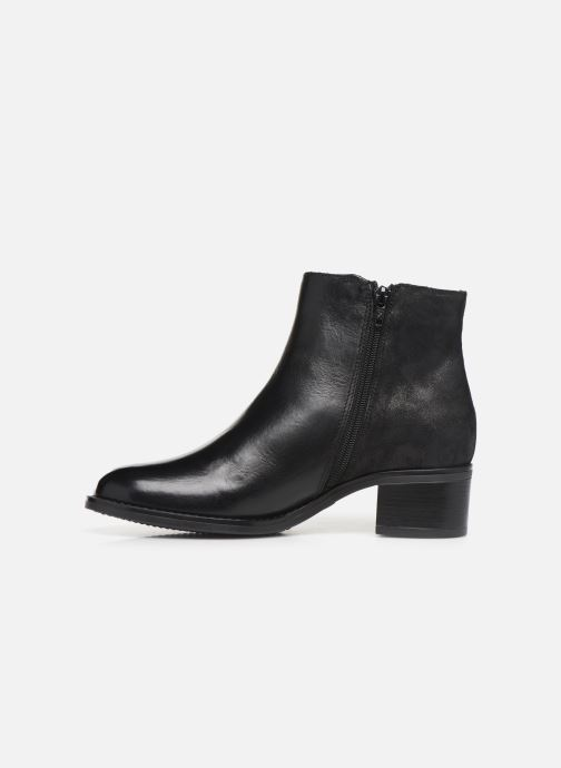 Ankle boots Georgia Rose Rikika soft Black front view