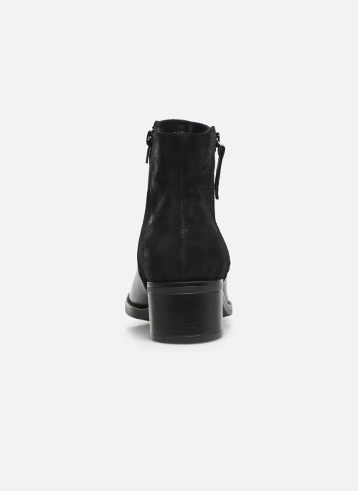 Ankle boots Georgia Rose Rikika soft Black view from the right