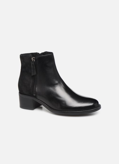 Ankle boots Georgia Rose Rikika soft Black detailed view/ Pair view