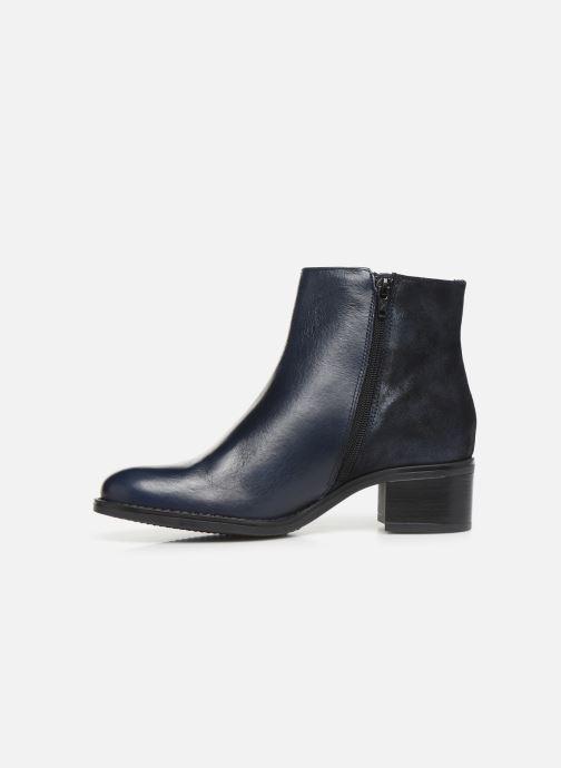 Bottines et boots Georgia Rose Soft Rikika soft Bleu vue face