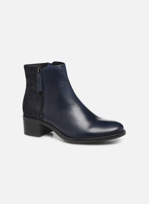 Bottines et boots Georgia Rose Soft Rikika soft Bleu vue détail/paire