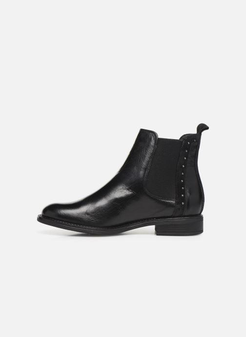 Bottines et boots Georgia Rose Riverna soft Noir vue face