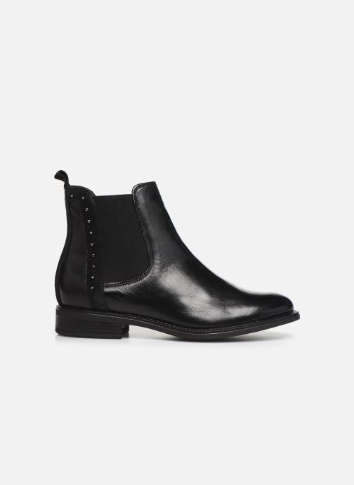 Bottines et boots Georgia Rose Riverna soft Noir vue derrière