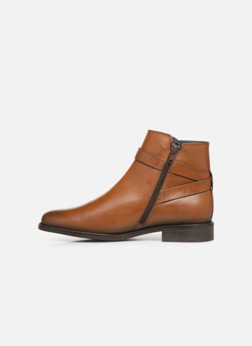 Ankle boots PintoDiBlu 74184 Brown front view