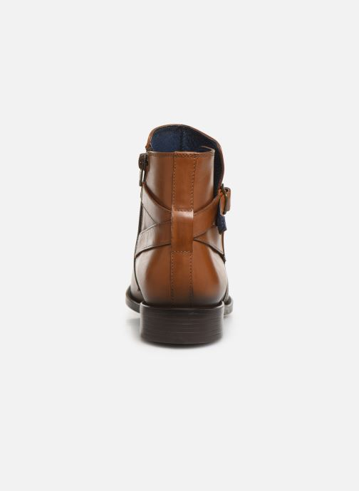 Ankle boots PintoDiBlu 74184 Brown view from the right