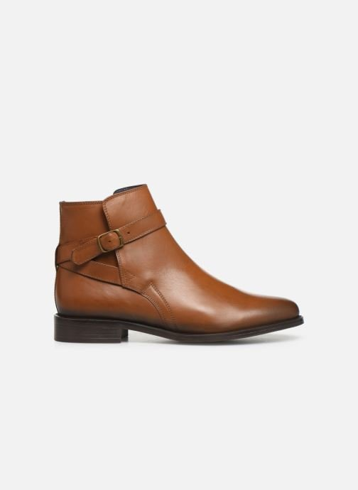 Ankle boots PintoDiBlu 74184 Brown back view